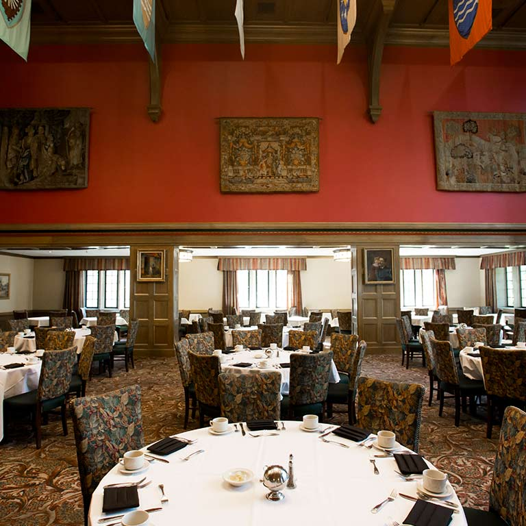 The Tudor Room in the Indiana Memorial Union